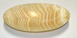 Vintage Oval Soapstone Trinket Soap Tray image 1