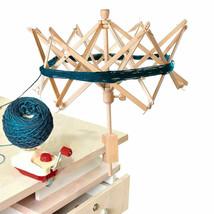 Umbrella Wooden (Birch) Swift Yarn Winder HOLDER Knitting Ball Tools SF ... - $32.39