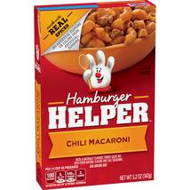 Hamburger Helper Chili Macaroni, 5.2 oz Box - $2.50