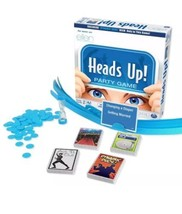 Heads Up Party Game 2nd Edition As Seen On Ellen 8+ Family Game Night NEW - $38.49
