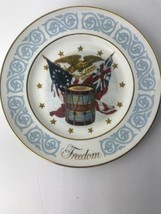 "FREEDOM Avon Collector Plate by Enoch Wedgewood LTD - 8.5"" Diameter - $15.10"