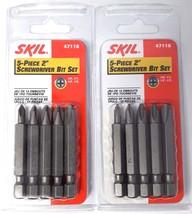 """SKIL 47116 Philips 2"""" Screwdriver Bits Asst #0, #1, #2, #3 (2-5 Pks) - $3.17"""