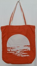 American Eagle Outfitters 7488 AE Everyday Tote Magnetic Closure Color Orange image 1