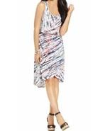 Style & Co Woman Dress Sz 1X Multi Evening Striped Sleeveless Business C... - €31,63 EUR