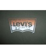 Levi's Brand Denim Jean Company Black Graphic Print T Shirt - XL - $18.45