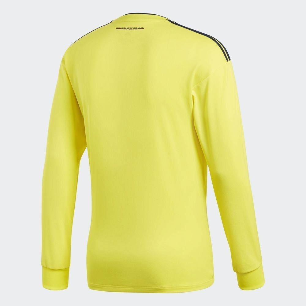 4164998bb ADIDAS JAMES RODRIGUEZ COLOMBIA LONG SLEEVE HOME JERSEY WORLD CUP 2018.  Soccer-National Teams Fan Apparel ...