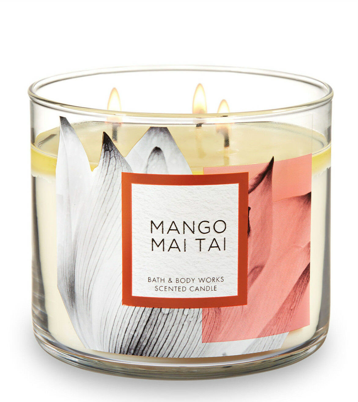 Bath & Body Works Mango Mai Tai Three Wick 14.5 Ounces Scented Candle - $23.95