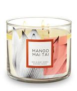 Bath & Body Works Mango Mai Tai Three Wick 14.5 Ounces Scented Candle - $23.95