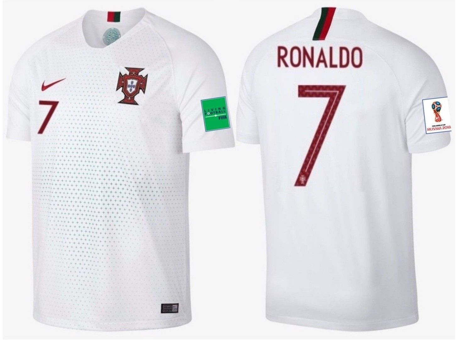64fc12795 Nike Cristiano Ronaldo Portugal Away Jersey and similar items. S l1600