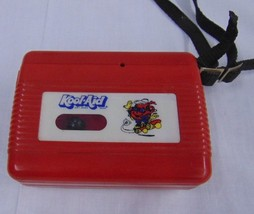 Unique Vintage Kool Aid Red Plastic Cassette Player Advertising Collectible - $19.78