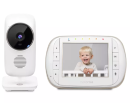"New !!! Motorola MBP668CONNECT Smart Video Baby Monitor Wi-Fi 3.5"" Color... - $110.00"