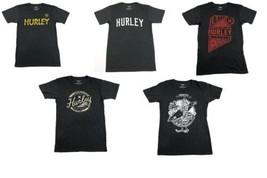 Hurley Men's Tee Shirt Heathered Graphic T-Shirt Short Sleeve Crew Neck NEW