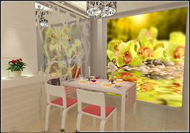 3D Kopfsteinpflaster blumen Fototapeten Wandbild Fototapete BildTapete FamilieDE - $52.21+