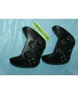 Pair Of Microsoft XBox Day One 2013 Video Game Controllers Black  - $64.34