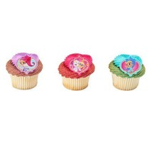 Shimmer & Shine Make a Wish Rings Cupcake Toppers - 24 pc - $6.88