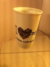 """I LOVE MY GOLDEN RETRIEVER""  COFFEE MUG / CUP / GLASS / DRINK--SHIPS FR... - $16.79"