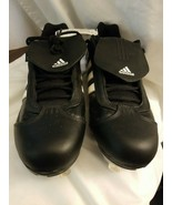 Adidas Men's Black Metal Baseball Cleats Excelsior EX 4.0 size 9 - $14.80