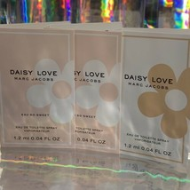 3 Piece Lot MARC JACOBS DAISY LOVE 1.2mL (3.6 mL Total) image 1