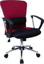 Mid-Back Burgundy Mesh Office Chair [LF-W23-RED-GG] electronic consumers - €100,25 EUR