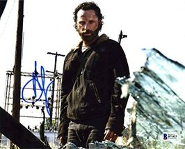 Andrew Lincoln The Walking Dead Signed 8x10 Photo Certified Authentic Beckett BA - $168.29