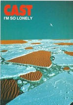 CAST - I'm so lonely  - 1997  Foldout Flyer  - Ex Condition - $4.29
