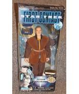 1996 Star Trek First Contact Zefram Cochrane 9 inch Action Figure New In... - $24.99