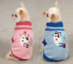 East Side Collection Snowflake Snuggler Dog Sweater Pet Pink Blue Holida... - $14.99+