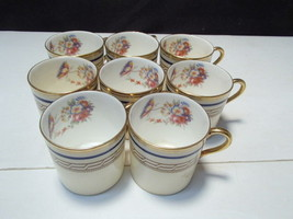 Vintage Aynsley Demi Cups & Saucers ~~ 8 cups 5 saucers - $33.99