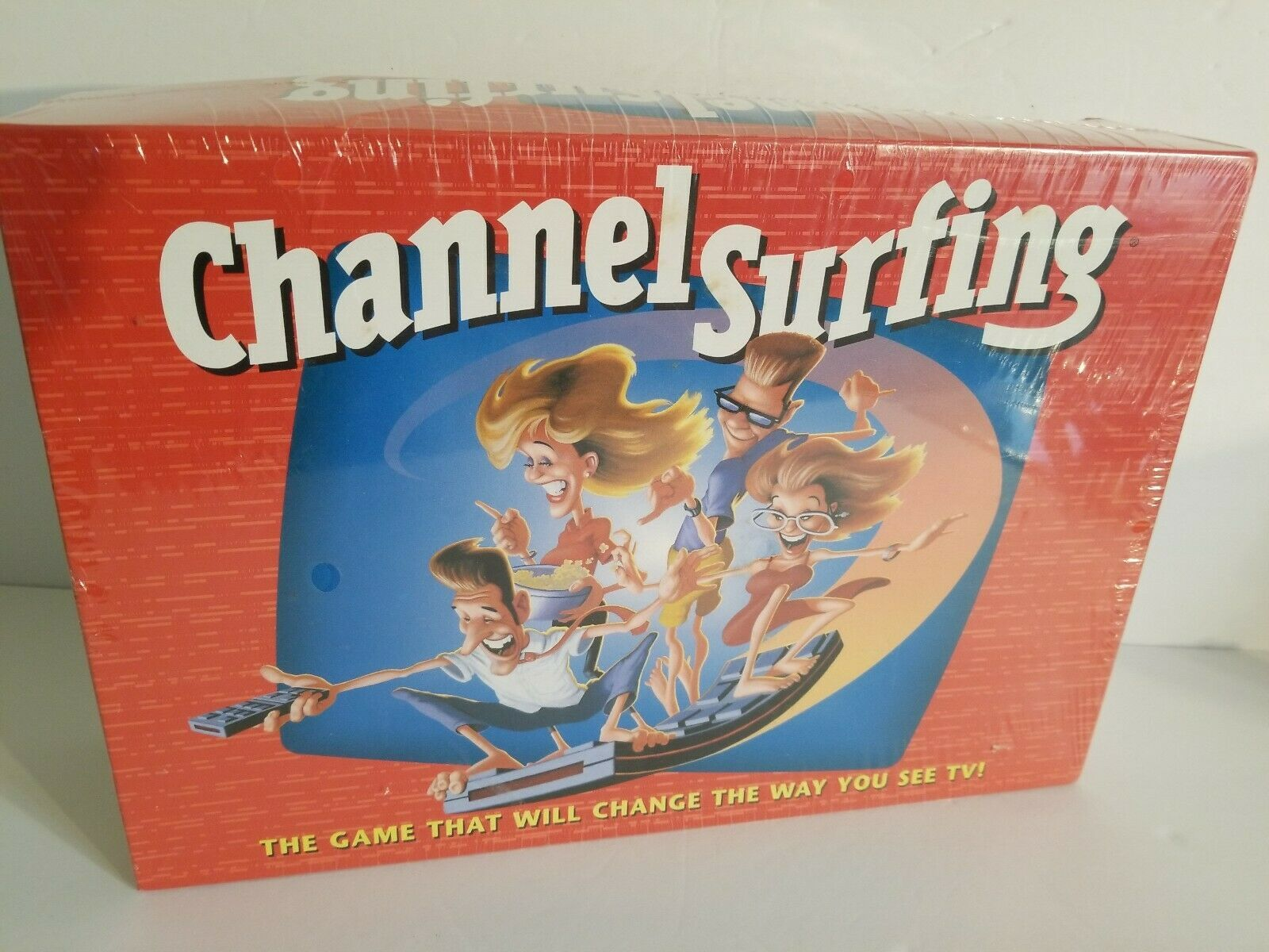 Primary image for Channel Surfing TV Family Game New Sealed Board game Ages 12+ Milton Bradley