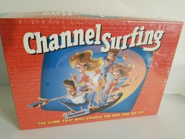 Channel Surfing TV Family Game New Sealed Board game Ages 12+ Milton Bra... - $14.01