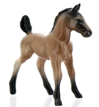 Hagen-Renaker Miniature Ceramic Horse Figurine Wild Mustang Colt Sorrel image 5