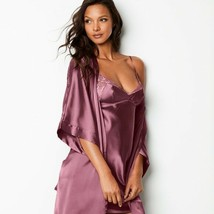 Victoria's Secret✨New✨Very Sexy Silky Satin Robe Kimono Short XS/S - $49.40