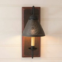 Crestwood wall Sconce light in Espresso with Salem Brick - $149.95