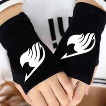 Hot Anime Fairy Tail Guild Finger Cotton Knitting Wrist Gloves Mitten Lovers Acc - $37.50