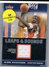 2003-04 Ultra Leaps and Bounds Game Used #LBJR Jason Richardson NM-MT NM... - $22.23