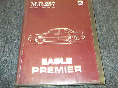 Primary image for 1988 Eagle Premier Service Shop Repair Workshop Manual FACTORY OEM BOOK 88