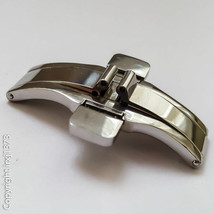 New solid steel clasp for Watchband for Tissot T035627A T035614A Watch S... - $28.71