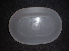 Tupperware 2494 Sheer Oval Seal Replacement Lid - $5.99