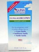 NEW Guna Biotherapeutics Guna Allergy Prev Homeophatic Medicine 30 mL 1.0 fl oz - $40.10
