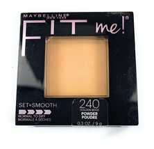 Maybelline Fit Me! Pressed Powder 240 Golden Beige Set + Smooth Normal to Dry - $9.29