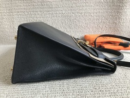 100% Authentic HERMES Black KELLY BAG GHW image 3