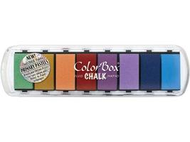 Colorbox Fluid Chalk Ink Pad, Primary Pastels, 8 Colors
