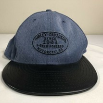 Harley Davidson Hat 59Fifty New Era Fitted Cap Nwt Biker Trucker Men's 7 3/8 - £24.07 GBP