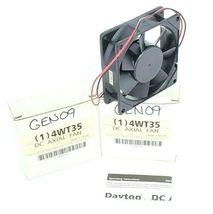LOT OF 2 NIB DAYTON 4WT35 DC AXIAL FANS RPM 2700 AMPS 0.16 WATTS 2.0, 12 VOLTS image 3