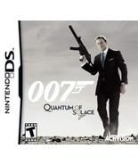 James Bond 007: Quantum of Solace NDS [video game] - $5.06