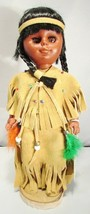 INDIEN ART ESKIMO DOLL 95-A FROM MIDDLETON DOLL COMPANY, QUEBEC  - NEW I... - $31.56
