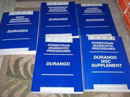 2002 Dodge Durango Service Repair Shop Manual Set 5 Diagnostics Procedures Books - $79.19