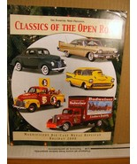 The Danbury Mint Presents Classics of the Open Road Holiday 2000 Catalog - $8.99