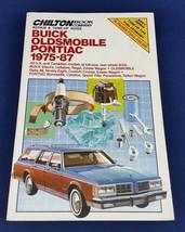 Chilton Buick Oldsmobile Pontiac 1975-87 Repair Tune-Up Guide Shop Manual 7308 - $14.75