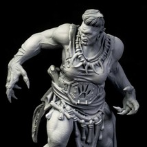 Nordic - Orc - Warrior - Ancient - 3D - Printed HQ - Resin Miniature - Unpainted - $14.99